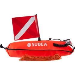 Boya torpedo bolsa estanca de señalización de pesca submarina SPF 500