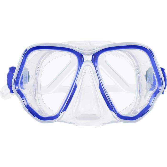 Duikmasker SCD 500 met 2 glazen felblauw