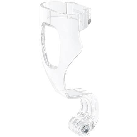Camera Mount for the Easybreath Snorkelling Mask transparent with a nut.