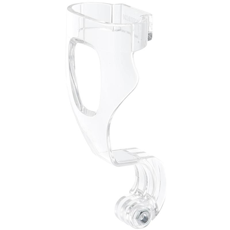 Dudukan Kamera untuk Masker Snorkeling Easybreath transparan dengan mur.