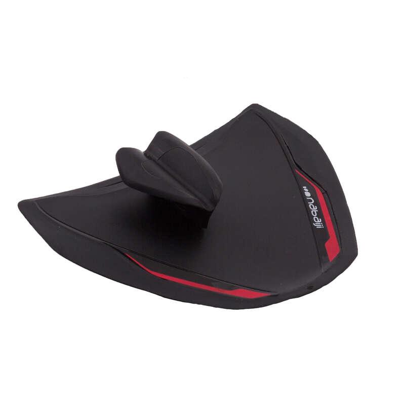 MATERIAL Swimming - Finger Paddle 900 - Black Red NABAIJI - Swimming Aids