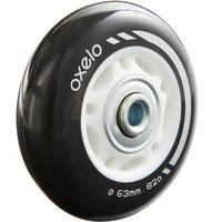 4 Skate Wheels 63 mm / 82A with Bearings