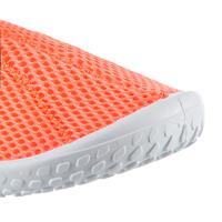 Zapatos acuáticos Aquashoes 100 niños rojo coral