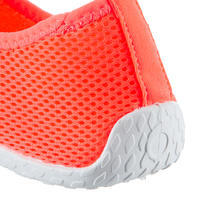 Zapatos acuáticos Aquashoes 100 Rojo coral