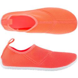 Waterschoenen voor volwassenen Aquashoes 100 zalmroze