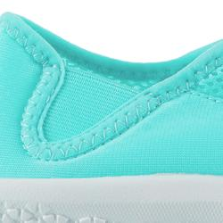 Aquashoes chaussures aquatiques 120 adulte turquoises claires