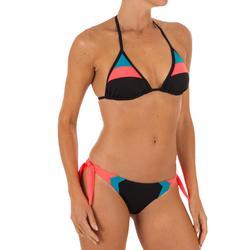 Bikini-Hose Sabi Colorblock seitlich gebunden Damen