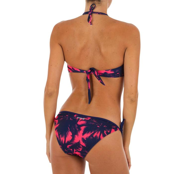 Top Bikini Surf Palabra de Honor Olaian Laura Mujer Bandeau Copas Rosa Fluor