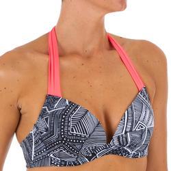 Sujetador de bikini mujer forma push up con copas fijas ELENA TRIBU