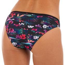 經典女款比基尼三角泳褲NINA-花卉款
