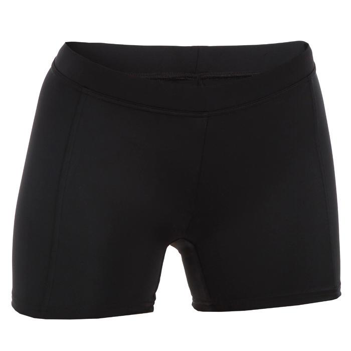 Braga Bikini Surf Pantalón Corto Short Olaian Reva Mujer Culotte Negro