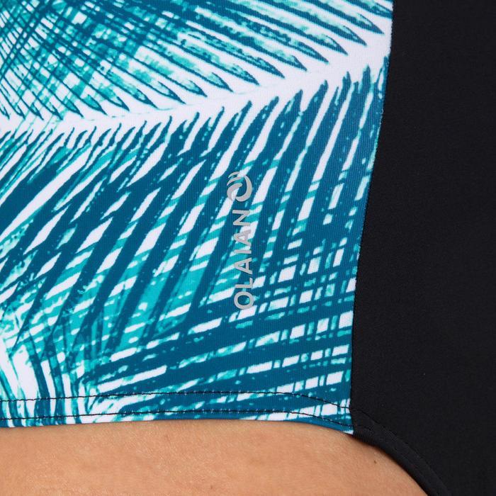 f49db82896f778 Badeanzug Carla Bondi bedeckende Form mit Back Zip Damen | Olaian ...