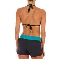 Boardshort TINI COLORBLOCK avec ceinture élastiquée et cordon de serrage - Femme