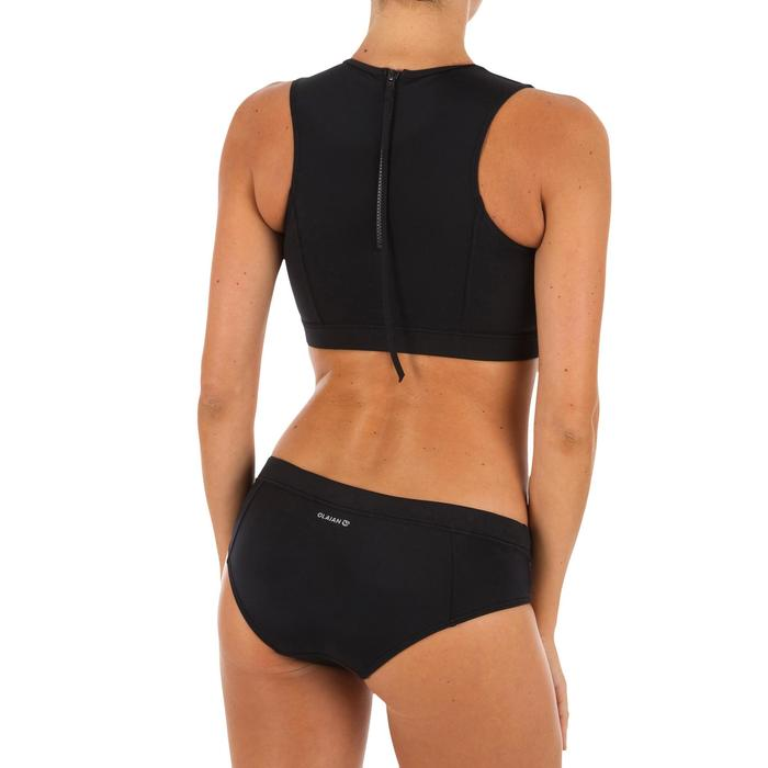 Bikini-Hose Surfen Vali mit Kordelzug schwarz