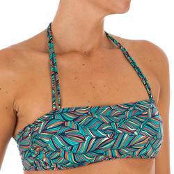 Haut de maillot de bain bandeau LAURA FOLY avec coques amovibles
