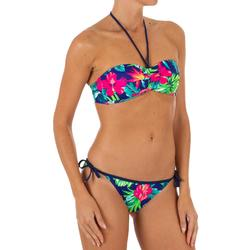 Top Bikini Surf Palabra de Honor Olaian Laura Mujer Bandeau Copas Fijas BoraBora