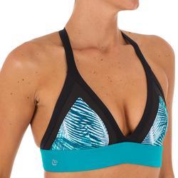 High-neck bikinitop Isa Bondi, voor surfen