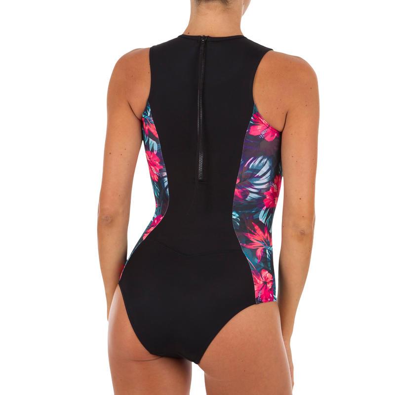 f444698ea08 Women's One-Piece Full-Coverage Swimsuit with Back Zip CARLA FOAMY ...
