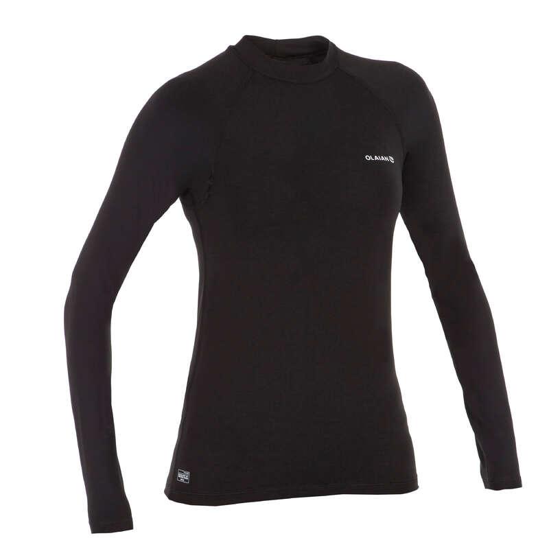 UV-Schutz Damen Damenbekleidung - UV-Shirt Top 100L Damen OLAIAN - Oberbekleidung Damen