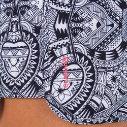 Women's Boardshorts with Elastic Waistband and Drawstring TINI MAORI