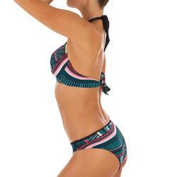 Top Bikini Surf Sujetador Push Up Olaian Elena Mujer Copas Fijas Multicolor