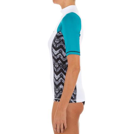 500 short-sleeved surfing T-shirt - Women