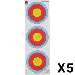 射箭運動靶紙Trispot 5入
