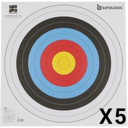 5 Scheibenauflagen Bogensport 60 × 60cm