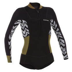 Surf Shorty long sleeved, front zipper