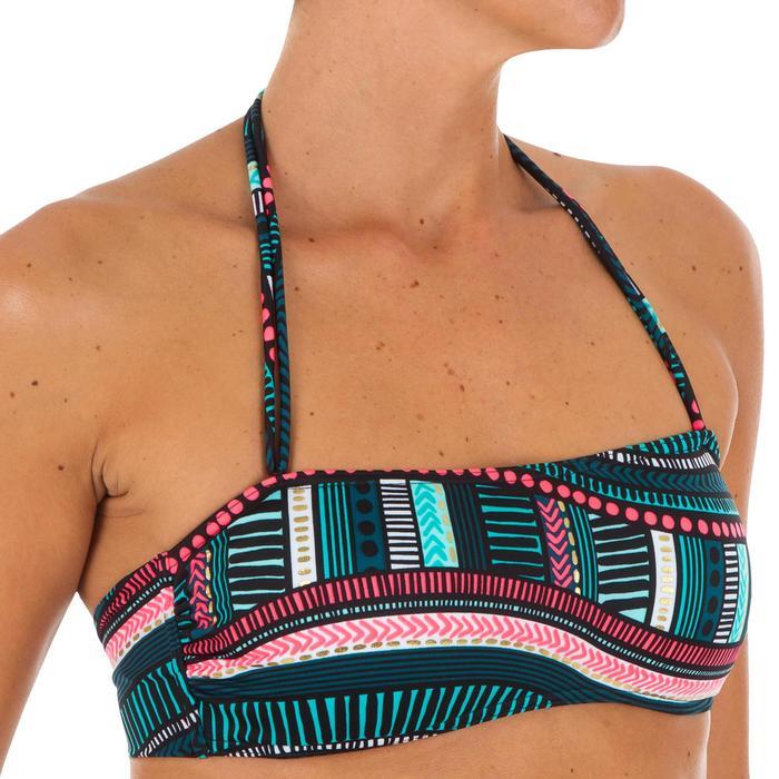 Haut de maillot de bain bandeau LAURA VILA avec coques amovibles