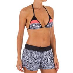 Haut de maillot de bain femme triangle coulissant avec coques MAE MAORI