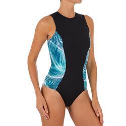 Carla 女士一件式連身泳裝 附背部拉鍊- Bondi
