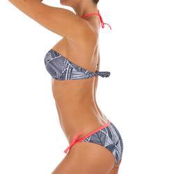Top Bikini Surf Palabra de Honor Olaian Laura Mujer Bandeau Copas Fijas Negro