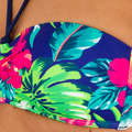 WOMEN BEGINNER SURF SWIMSUIT - BANDEAU LAETI BORA OLAIAN