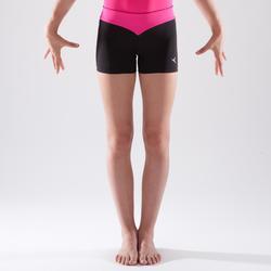 Short de gymnastique artistique féminine sequins