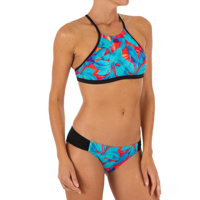 Bas de maillot de bain de surf femme plissée côté NIKI WALIS