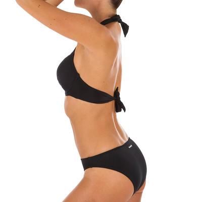 Parte inferior clásica de bikini mujer NIÑA NEGRO