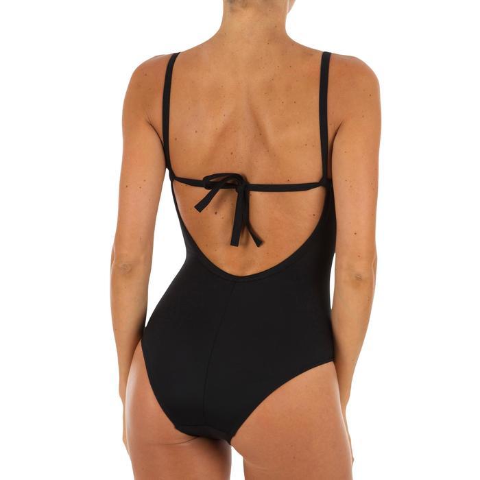Badeanzug Cloe Träger in X- oder U-Form Damen schwarz