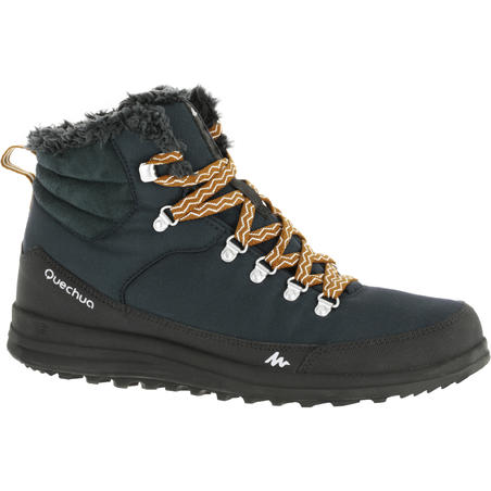 Arpenaz 100 Mid Warm men's hiking boots - Blue