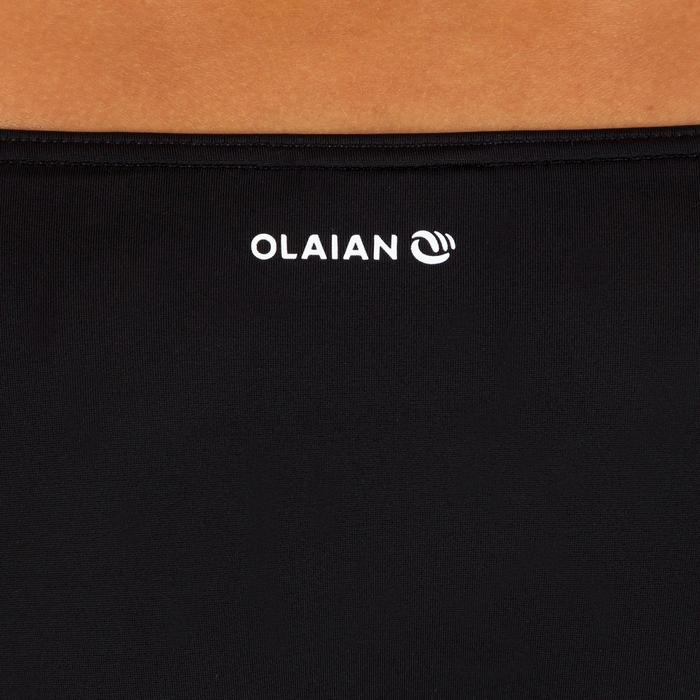 Braga bikini Anudada Talle Alto Surf Olaian Mujer Sabi Negro
