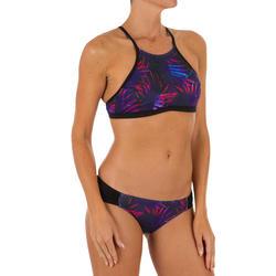Top Bikini Surf Sujetador Deportivo Olaian Mujer Ajuste Espalda Andrea Palmeras
