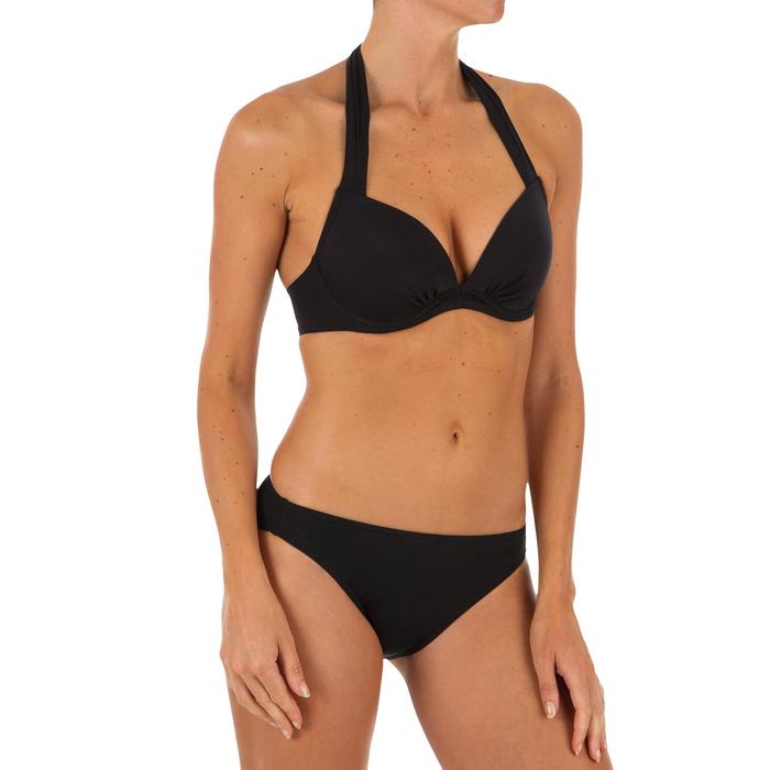 Push up Bikini Oberteil Elena Damen schwarz