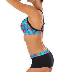 Bas de maillot de bain shorty de surf femme AVEC CORDON DE SERRAGE VAIANA WALIS