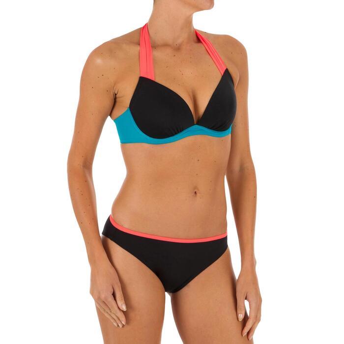 Bikini-Hose Nina Colorblock Surfen klassische Form Damen