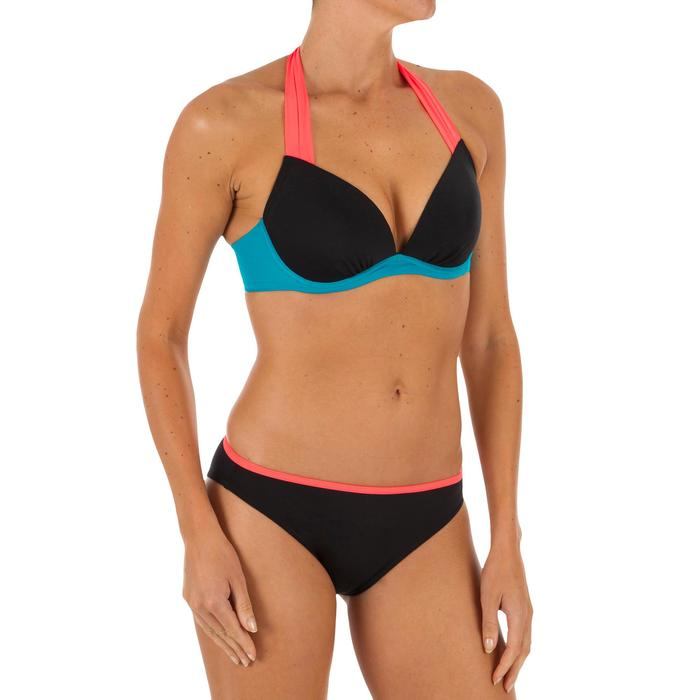 Push Up Bikini Oberteil Elena Colorblock Damen