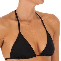 Haut de maillot de bain femme triangle coulissant avec coques MAE CORAIL