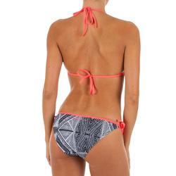 TTop Bikini Triangulos Corredizos Olaian Mae Pad Mujer Copas Desmontables Negro