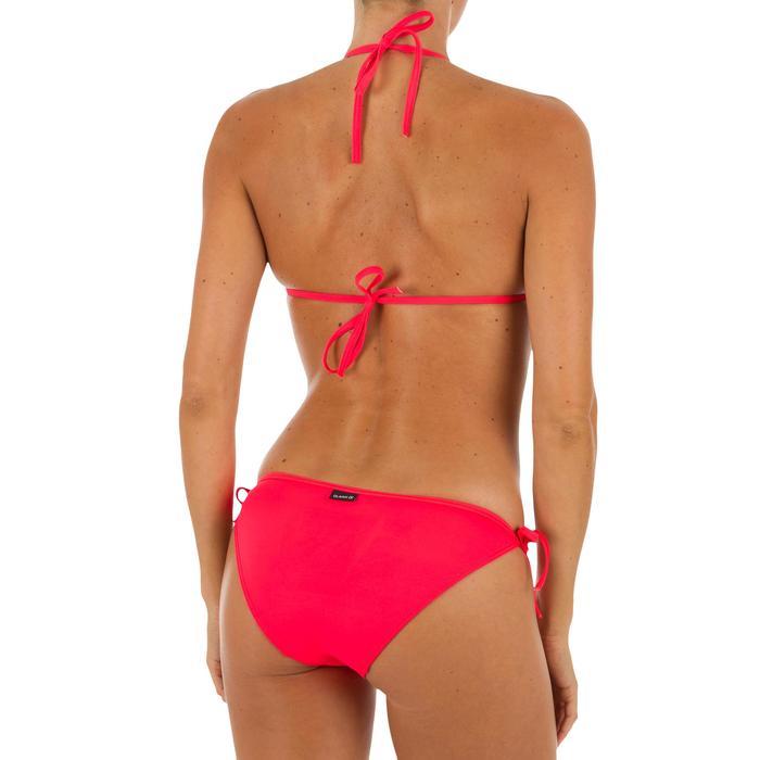 Bikini-Oberteil Triangel Mae verschiebbar Damen koralle