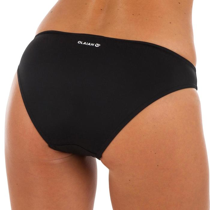 Klassiek bikinibroekje voor dames Nina zwart