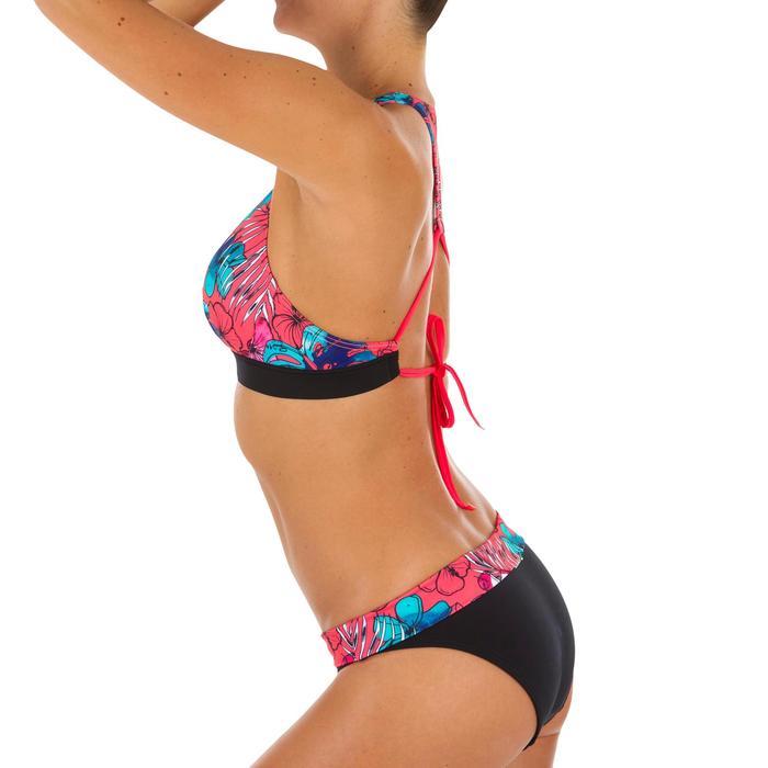 Bikini-Hose Nao Aloha hoher Taillenbund mit Revers Damen